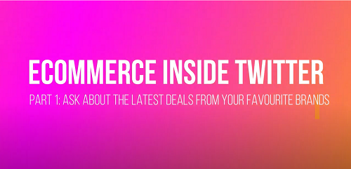 How To Use Twitter for your eCommerce - Part 1 (Deals)
