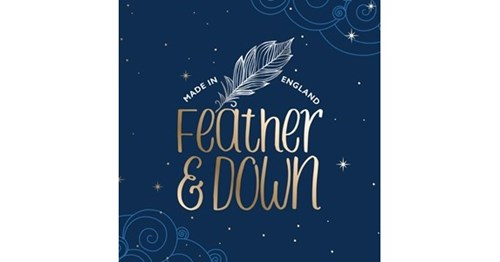 Logo Feather and Down