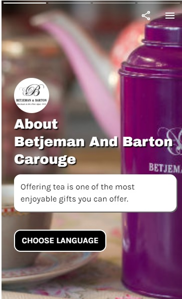 Barton & Betjeman's - Brand Web Stories - eCommerce Tools