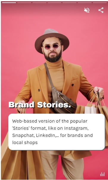 Brand Web Stories - eCommerce - online shopping