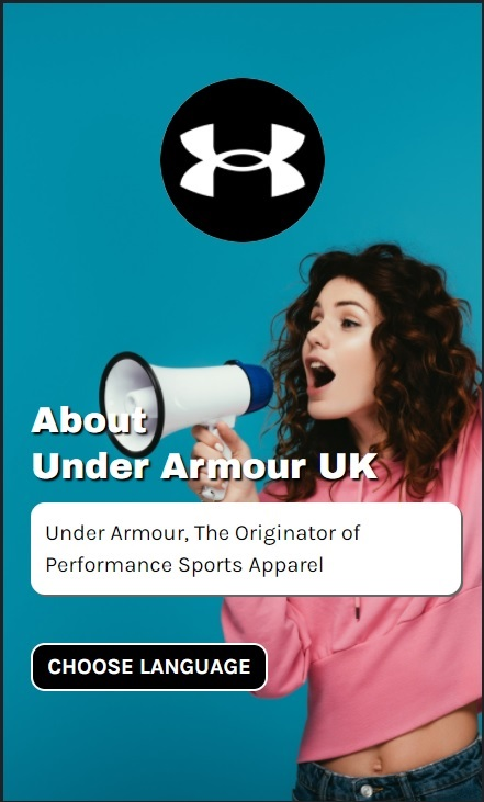 Under Armour - Brand Web Stories - eCommerce Tools